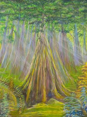B C Cedars Poster by Cathy Long
