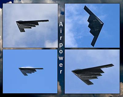 B2 Stealth Bomber Poster by John Freidenberg