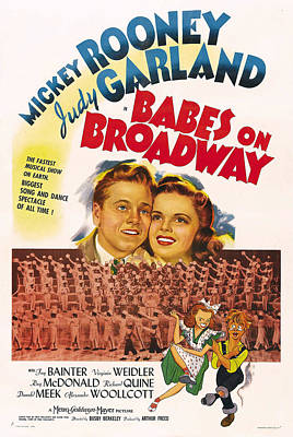 Babes On Broadway, Us Poster Art Poster by Everett
