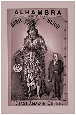 Babil And Bijou - Giant Amazon Queen Poster by Maciek Froncisz