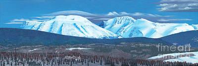 Babine Mountain Range Poster