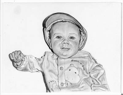 Baby Boy Jake Poster by Barb Baker