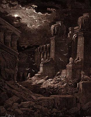 Babylon Fallen, By Gustave Dore Poster