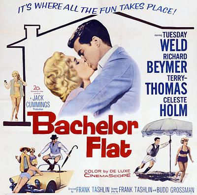Bachelor Flat, Us Poster Art, From Left Poster by Everett