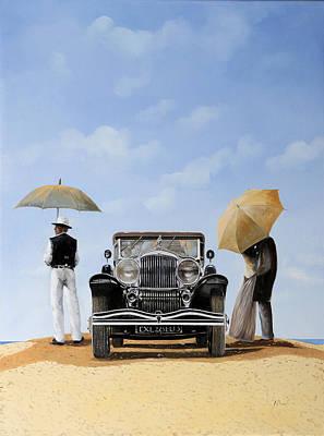 Baci Nel Deserto Poster by Guido Borelli