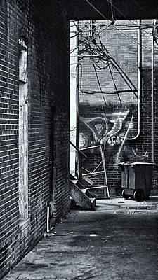 Poster featuring the photograph Back Alley by Greg Jackson