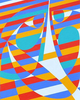 Back And Back, 2006 Acrylic On Board Poster