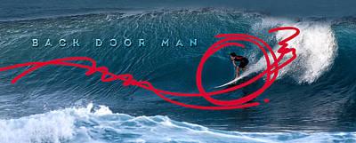 Back Door Man Poster by Ron Regalado