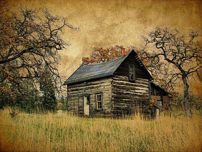 Backwoods Cabin Poster