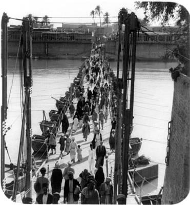 Baghdad Katah Bridge, 1932 Poster