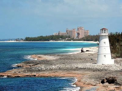 Bahamas Lighthouse Poster
