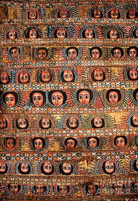 Bahar Bahir Dar Ethiopia Bright Colour Painted Church Ceiling Poster