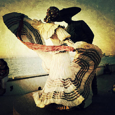 'bailarines De Vallarta' By Jim Demetro Poster by Natasha Marco