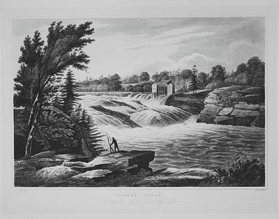 Bakers Falls No. 8 Of The Hudson River Poster