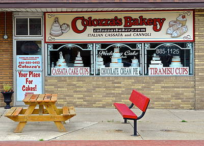 Bakery Fresh Poster by Frozen in Time Fine Art Photography