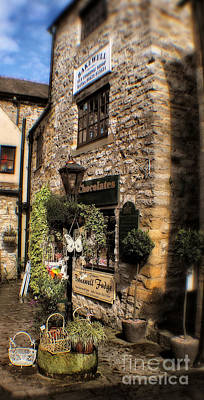Bakewell Fly Fishing Shop - Peak District - England Poster by Doc Braham