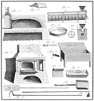 Baking Tools, 18th Century Poster by Granger