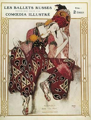 Bakst, L�on 1866-1924. La P�ri. 1911 Poster