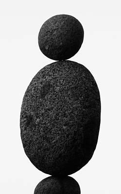 Balance The Stones  Poster by Empty Wall