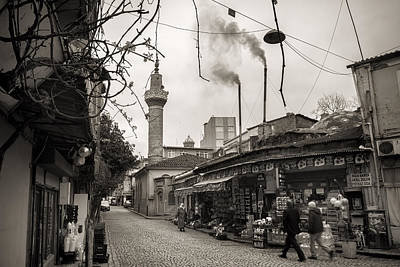 Balat Neighborhood In Istanbul Poster by For Ninety One Days