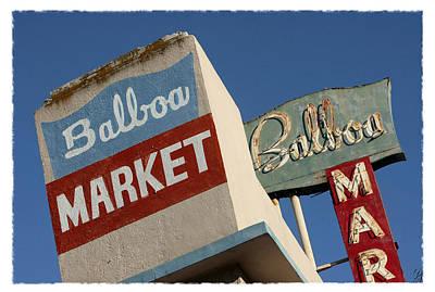 Balboa Market Poster
