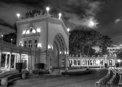 Balboa Park Organ Pavilion Poster