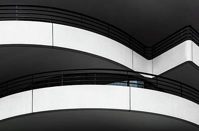 Balcony Lines Poster