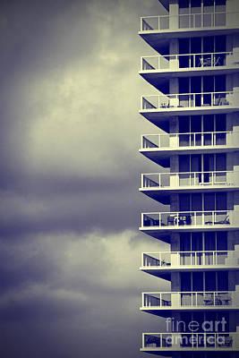 Balcony Study Poster by Amy Cicconi