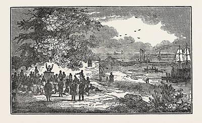 Baldaeus Preaching To The Natives Of Point Pedro Poster