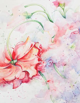 Ballerina Flowers Poster by Kelly Johnson