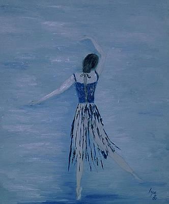 Ballerina Poster by Inge Lewis