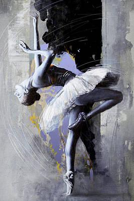 Ballet Dancer 16 Poster by Mahnoor Shah