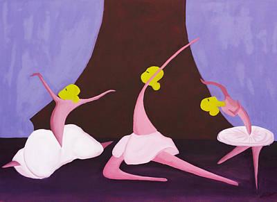 Ballet Poster by Esther Osborn