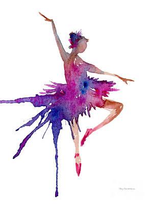 Ballet Retire Devant Poster