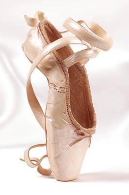 Ballet Shoe Poster by Kitty Ellis