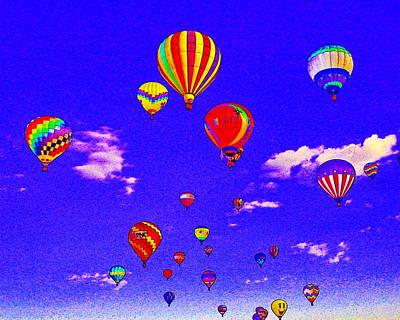 Ballon Race Poster