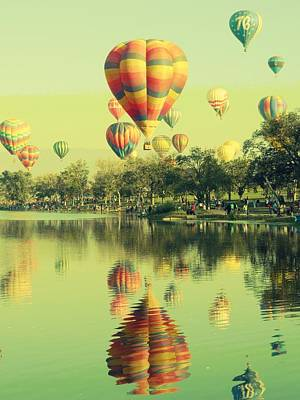 Balloon Classic Poster by Michelle Frizzell-Thompson