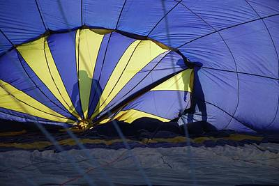 Poster featuring the photograph Balloon Fantasy 4 by Allen Beatty