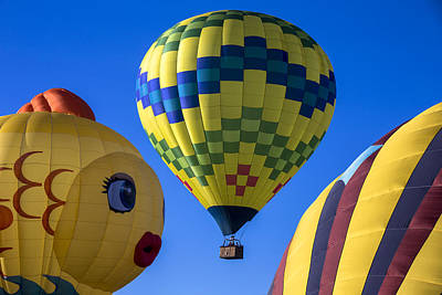 Ballooning Poster by Garry Gay