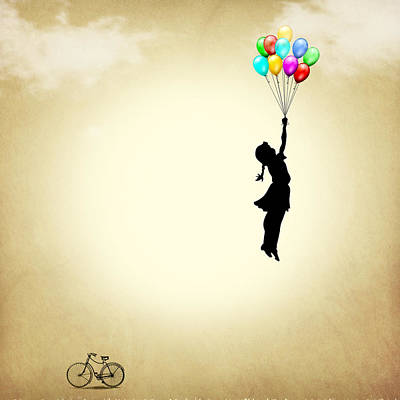 Balloons Poster by Mark Ashkenazi