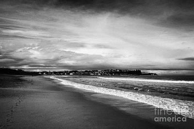 Ballycastle Beach In Winter County Antrim Northern Ireland Poster by Joe Fox