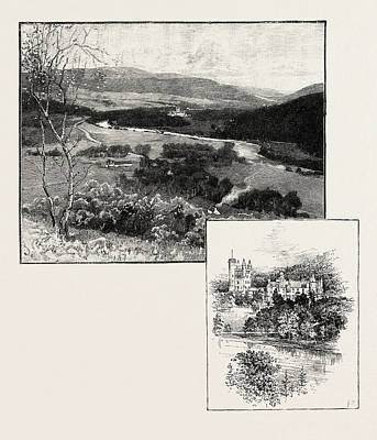 Balmoral And Balmoral Castle Poster by Scottish School