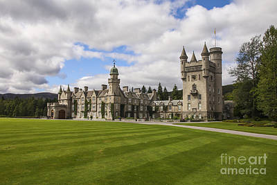Balmoral Castle Poster by Patricia Hofmeester