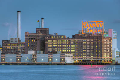 Baltimore Domino Sugars Plant I Poster by Clarence Holmes