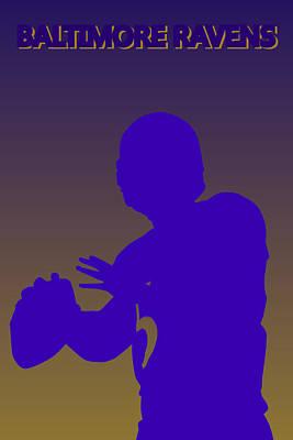 Baltimore Ravens Joe Flacco Poster