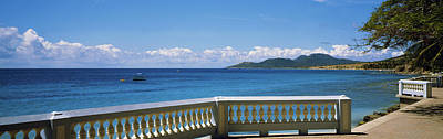 Balustrade On The Beach, Esperanza Poster by Panoramic Images