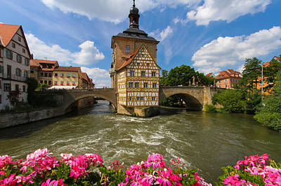 Bamberg Bridge Poster
