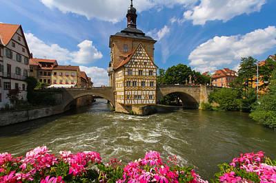 Bamberg Bridge Poster