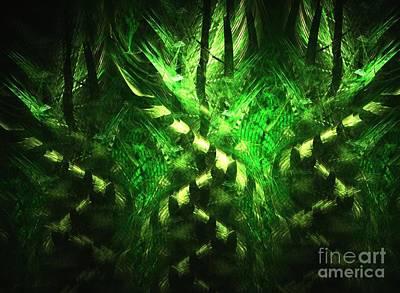 Bamboo Twist Poster