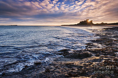 Bamburgh Castle Poster by Rod McLean